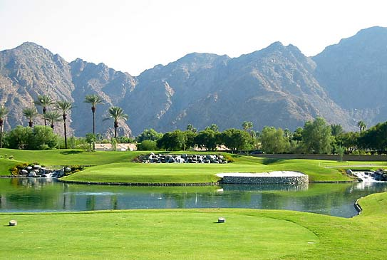 Indian Wells, California, golf course