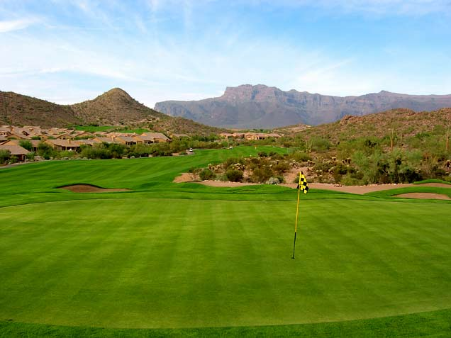 Gold Canyon - Dinosaur Mountain - Phoenix, Arizona - Golf Course Picture